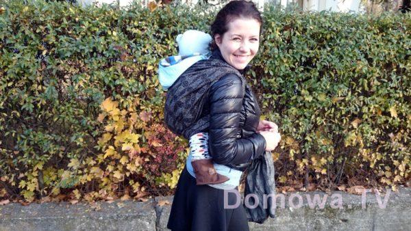 Jesiennie, swoją drogą piękna chusta, Oscha Starrynight Raven