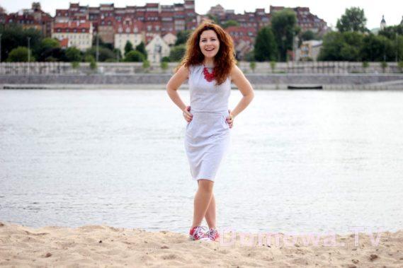 Dresowa sukienka szara