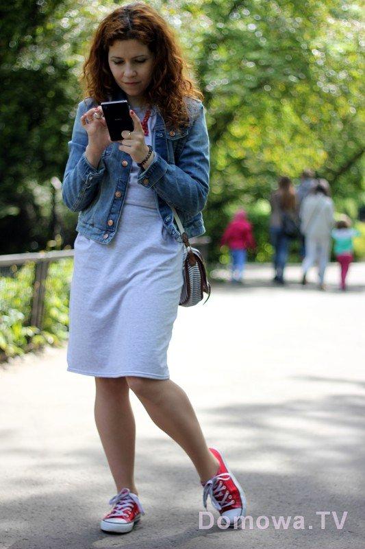 Dresowa sukieka :) Idealny strój na spacer
