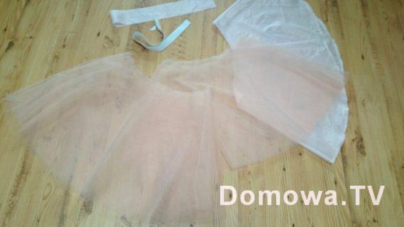 Tutorial szycie spódnicy z tiulu