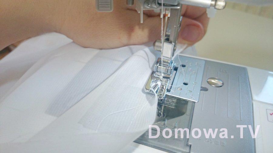Tutorial - szycie bluzki z szyfonu