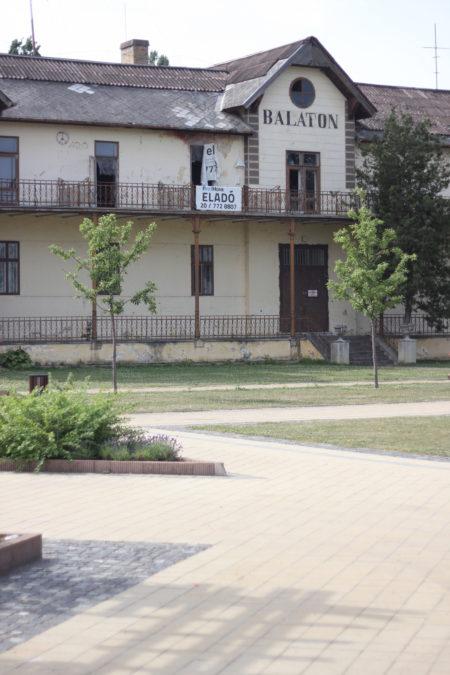 Opuszczony hotel Balaton