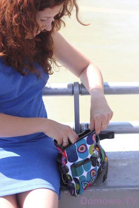 Moja ostatnio ulubiona torebka, desigual, kolorowa, wygodna