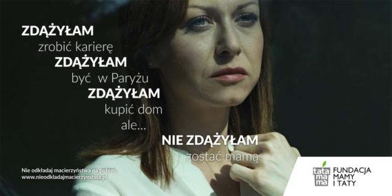 Plakat kampani, fot ze strony: nieodkladajmacierzynstwa.pl