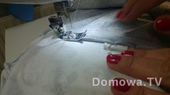 Szycie bluzy tutorial