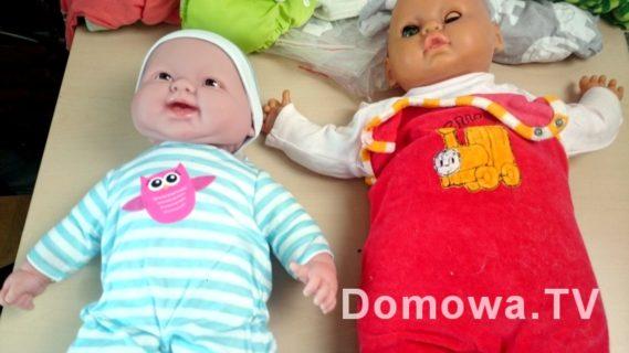 Po lewej Berenguer, a po prawej moja lalka z dzieciństwa taka około 30 letnia