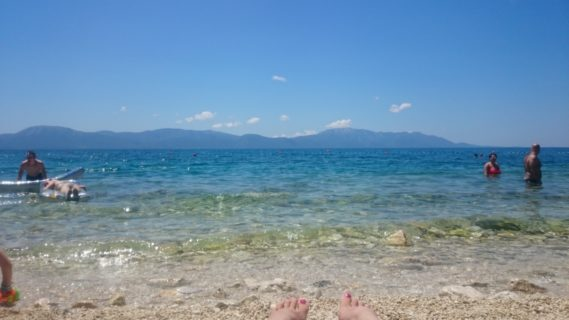 Plaża, woda, słońce