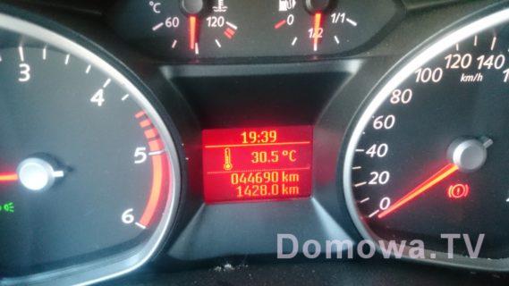 A to temperatura w drodze do Wenecji :)