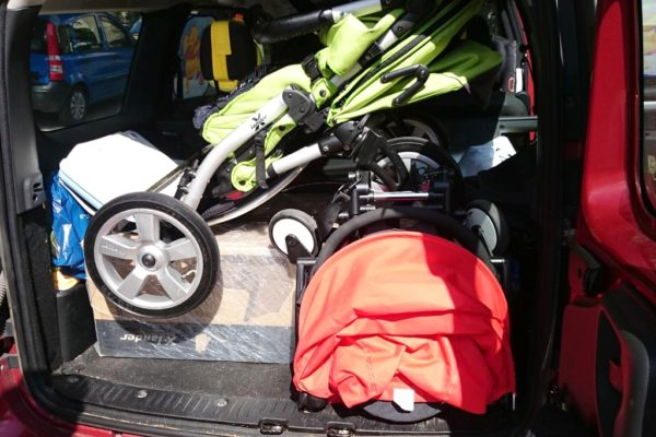 Wózek może się skłądać, jakby się nie składał i być malutki :) Xlander XA, Babyzen Yoyo