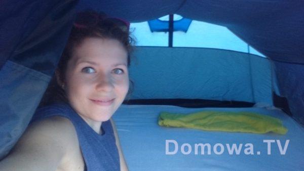 Nasz namiot :)