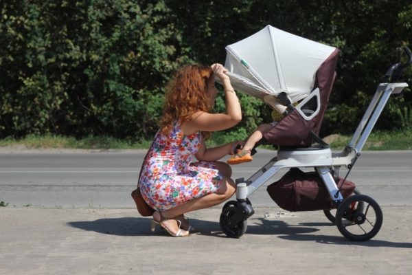 Orbit Baby, siedzisko, które można ustawić też bokiem