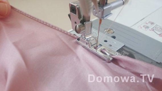 Szycie spódnicy z szyfonu