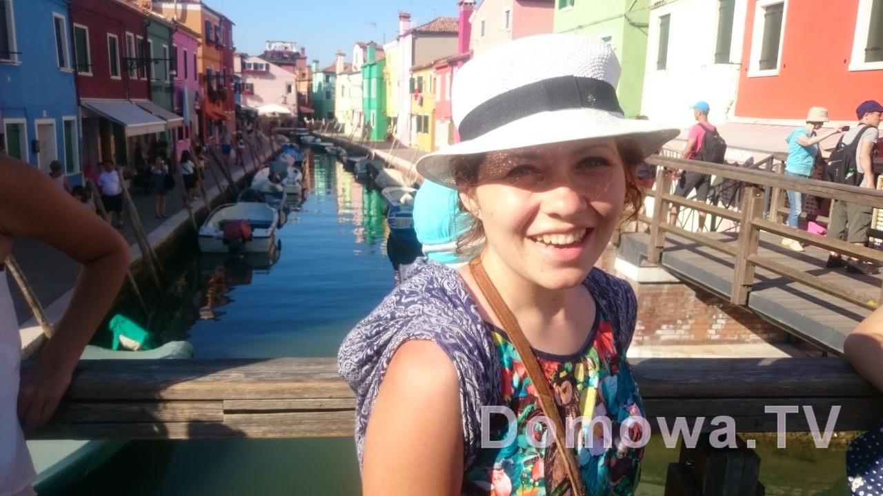 Piekne Burano obok Wenecji