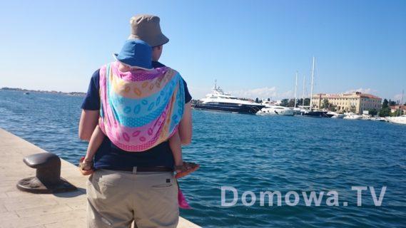 Zadar - ulubiona chusta Michała