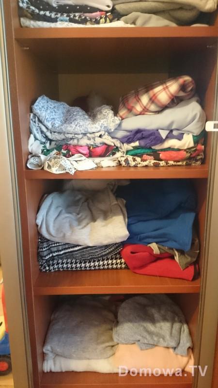 Porządki w szafie (nie znoszę!)