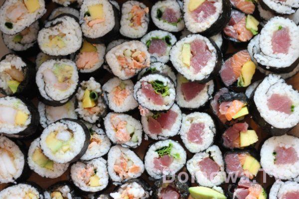 I jeszcze więcej sushi!