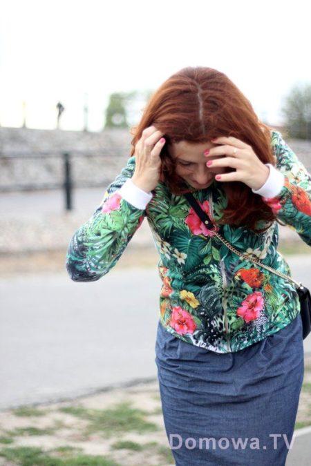 Z bluzą :)