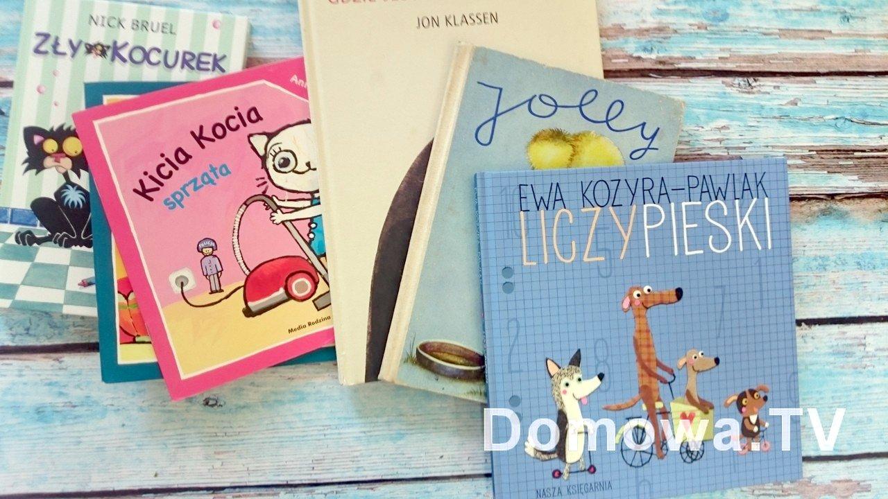 Książeczki dla małych dzieci