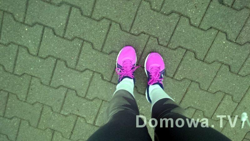 biegam, bo same mnie niosą