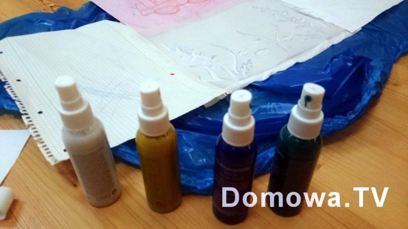 Malowanie farbami do tkanin krok po kroku