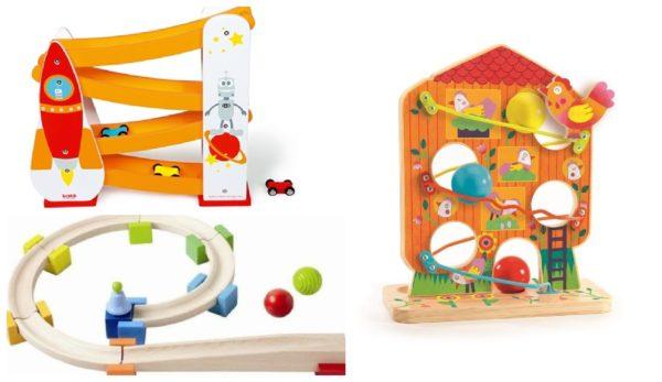 Zabawki z lecącą kulą :)