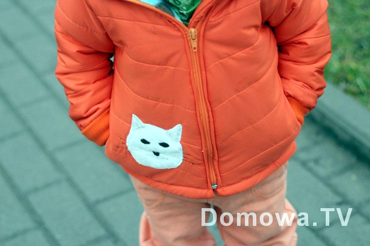 Pomarańczowa kurtka