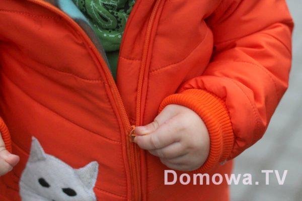 Kurtka pikowana dla dziecka