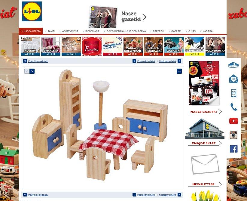 Zabawki dla dzieci z Lidla, Biedronki, Pepco – co warto kupić -> Kuchnia Dla Dzieci Reklama Tv