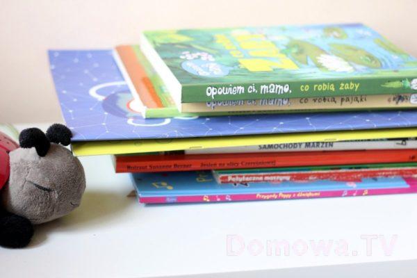 Jeszcze trochę książek i gwiezdna biedronka