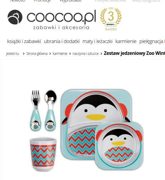 Zestaw talerzy, zdjęcie PS z coocoo.pl