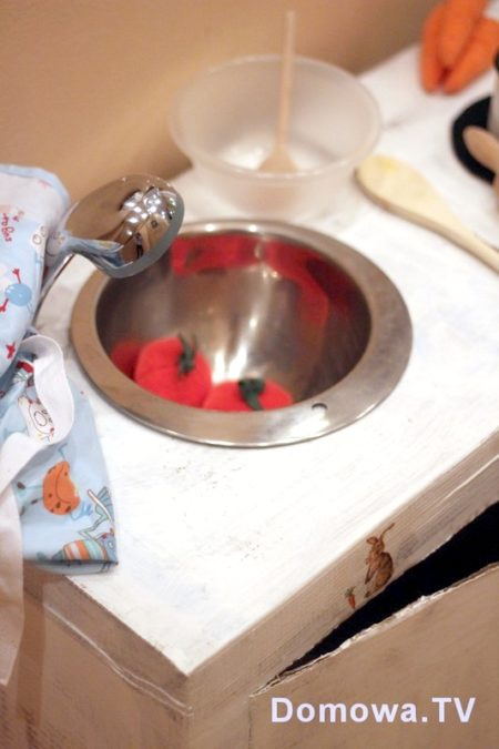 Kuchenka dla dzieci - zlew