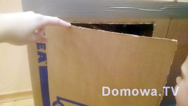 Otwór na szafkę