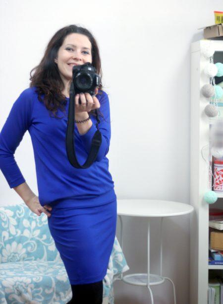 Sukienka Cool Mama, prócz ciąży super podczas karmienia, serio!