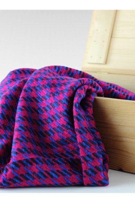 Pepitkowy szal