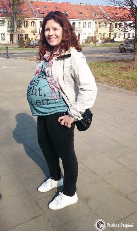 To jest jakieś 3-5 dni przed porodem :) będę sobie na to patrzeć jeśli kiedyś hormony mi zaszaleją :)