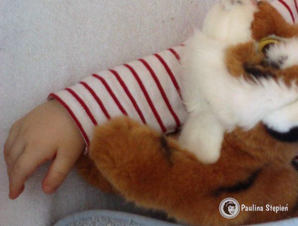 Przytulanka towarzyszy moim dzieciom od początku :)