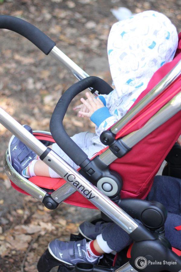 Dziecko 1,5 roczne, siedzisko główne