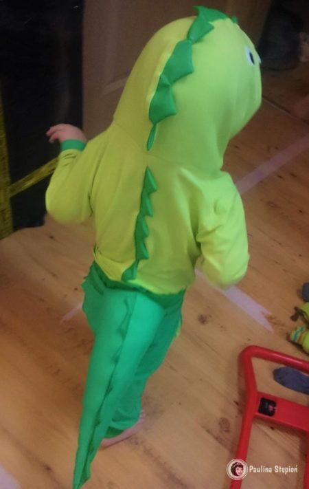 Dinozaur - strój karnawałowy