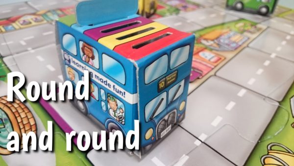 Gra autobusy Round and Round Orchard Toys