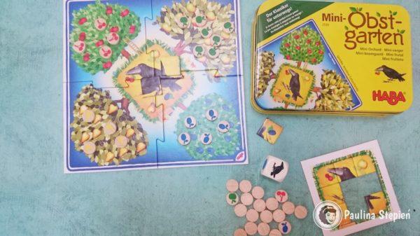 Gra w ogrodzie w wersji mini
