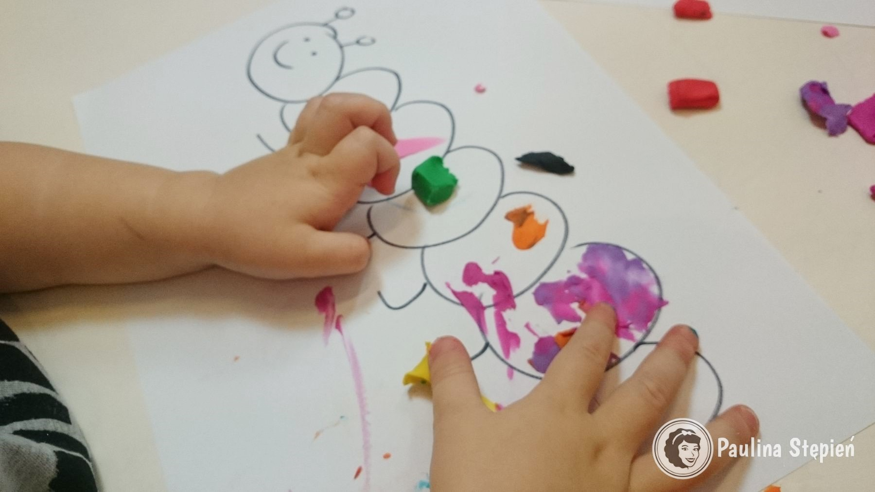Rysowanie plasteliną