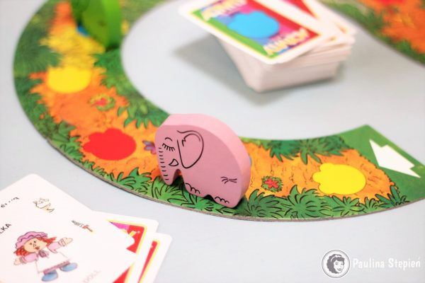 Drewniane słonie