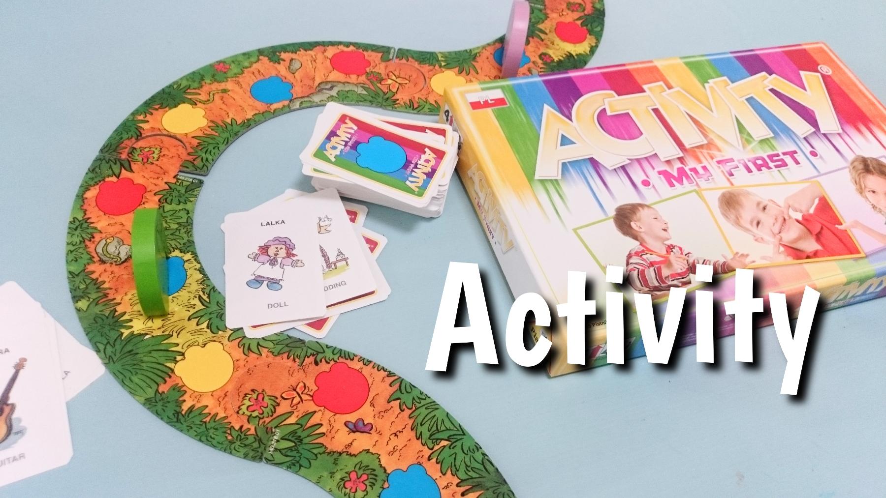 Activity. My first, gra rodzinna