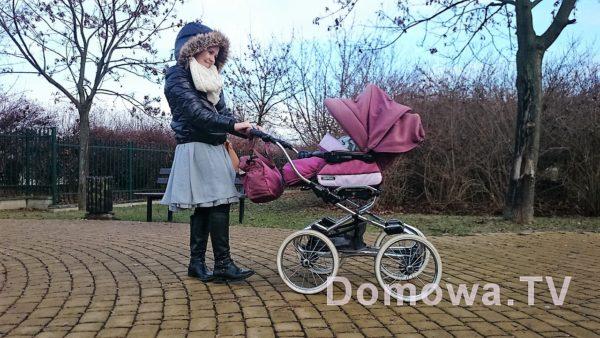 Bebecar Stylo Class – klasyczny wózek na skrętnych kołach