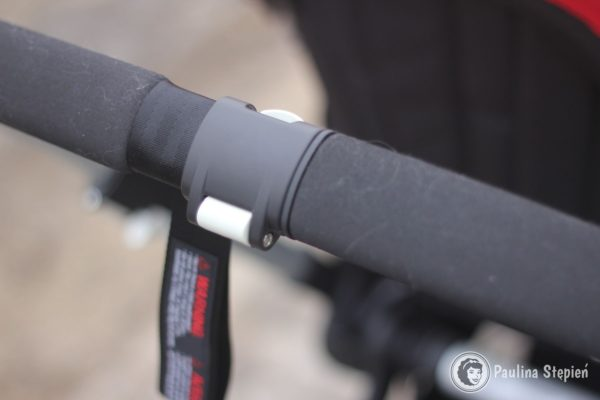 Klips na rącznce (jeden z trzech) do poszerzenia wózka