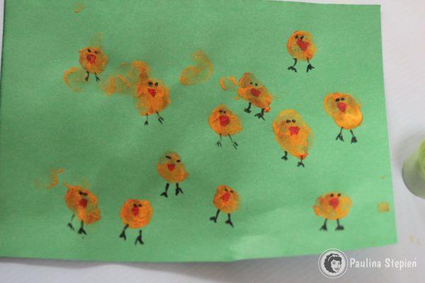 Paluszkowe kurczaczki