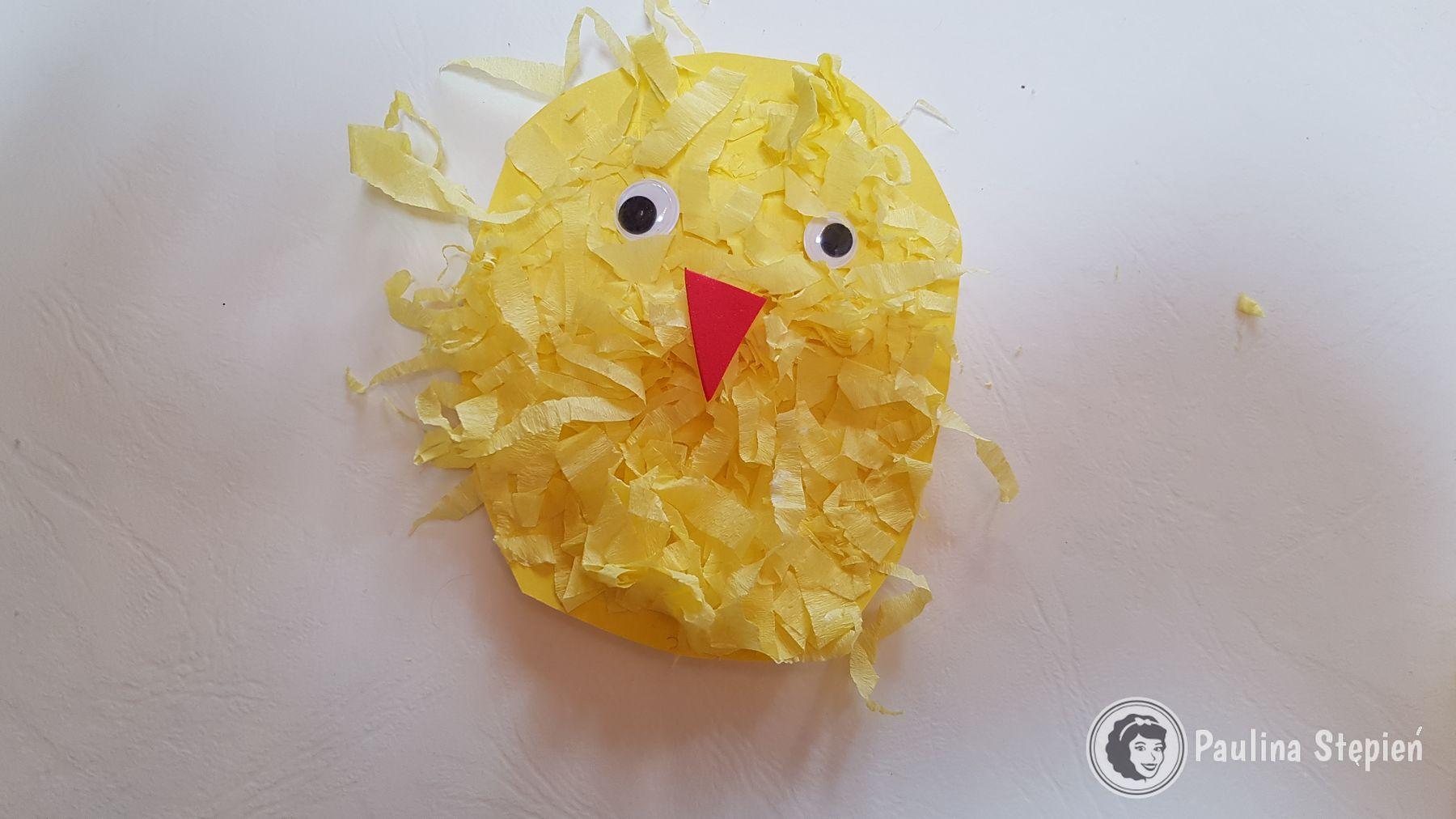 Kurczaczek z krepiny