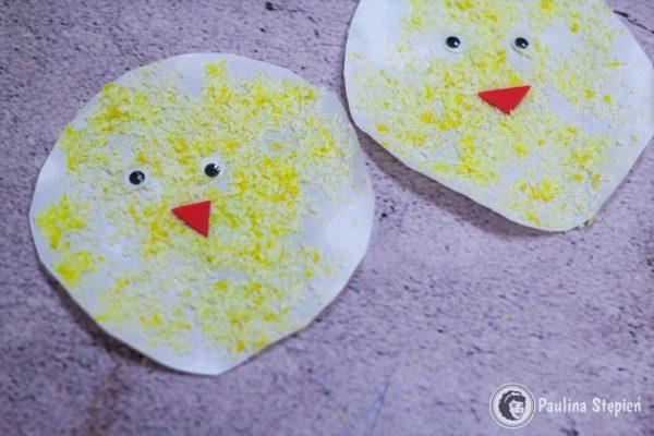 Kurczaczki z wiórków