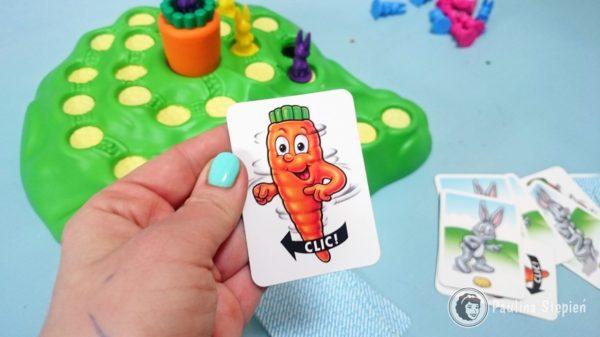 Obrócenie marchewką