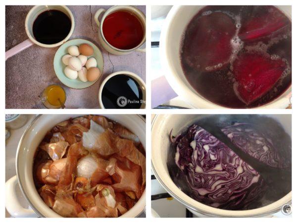 Wywar do barwienia jajek wielkanocnych